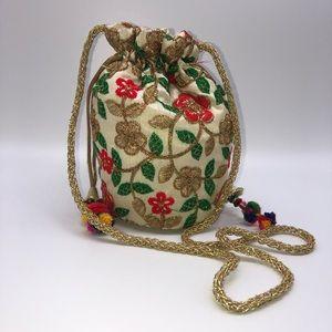 Handbags - Small Indian Potli Bag